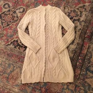 Chunky Wool Sweater Coat from Anthropologie